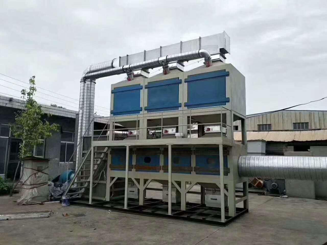 活性炭吸附-脱附(RCO)催化燃烧设备安装案例